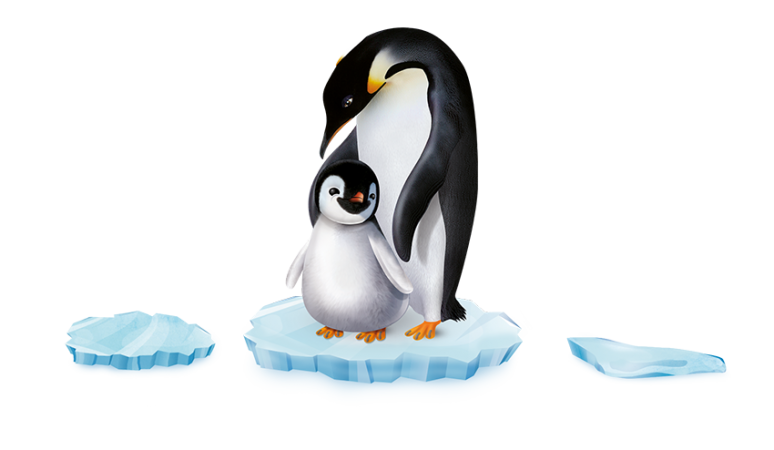 Pingo_Pinguin_Eisplatte